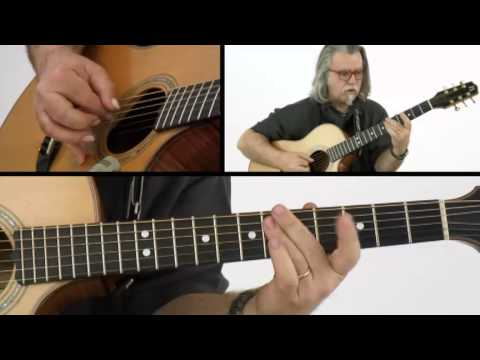 Fingerstyle Boogie - #18 Highway - Guitar Lesson - Tim Sparks