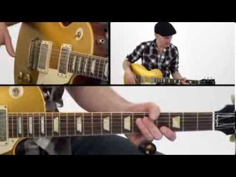30 Blues Grooves - #10 Never Satisfied - Guitar Lesson - Jeff McErlain