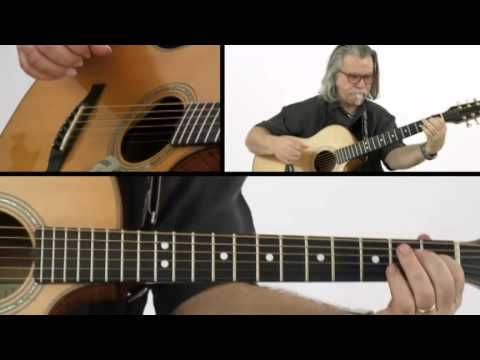Fingerstyle Boogie - #20 Tarmac - Guitar Lesson - Tim Sparks