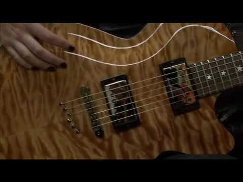 Daisy Rock Rock Candy Special Electric Guitar - video review with Valhalla