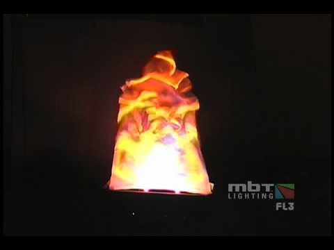 MBT Lighting FL3 Monster Flame Light - Demo Video