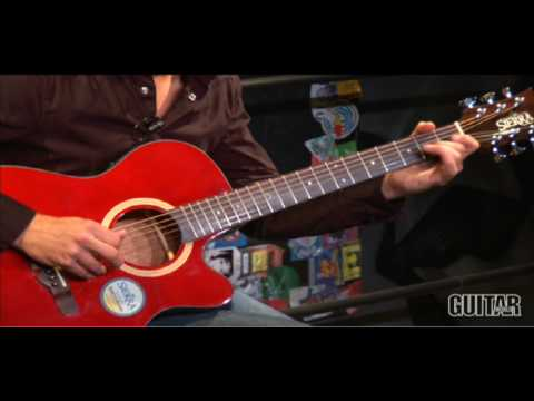 Sierra Guitars SA28CE Sunrise Acoustic-Electric Guitar - video review/demo