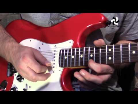 Mary Had A Little Lamb SOLO - Stevie Ray Vaughan (Guitar Lesson CS-004) SRV Blues Texas