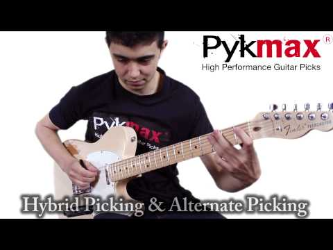 Pykmax High Performance Guitar Pick Demo With Orion Meshorer