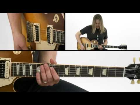 Hard Rock Guitar Lesson - #29 A Page From Zep - Survival Guide - Angus Clark