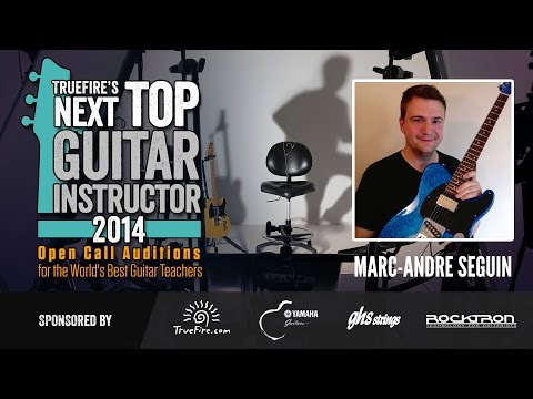 Marc-Andre Seguin TNTGI Lesson #2: Four Effective Bebop Scale Fingerings For Jazz Guitarists