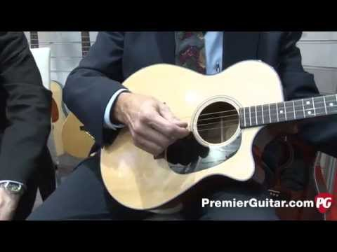 Musikmesse '14 - Blueridge BR 40TCE Tenor Guitar Demo