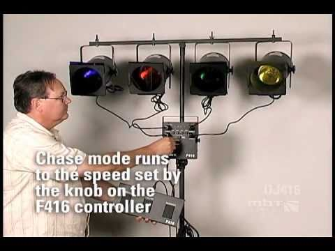 MBT Lighting DJ416 DJ Lighting System - Setup Info and Demo