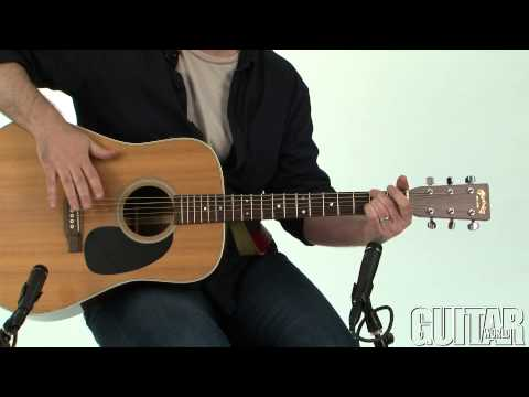 How To Play Percussive Acoustic Guitar With Mike Errico Part 2