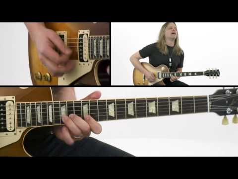 Hard Rock Survival Guide: Lead - # - Guitar Lesson - Angus Clark