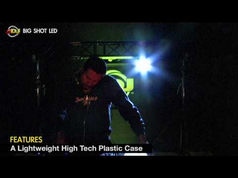 American DJ Big Shot LED Strobe Light - Demo Video