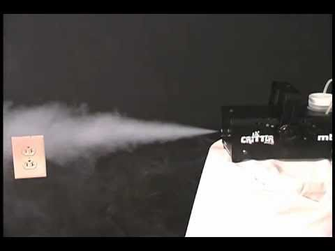 MBT Lighting FM400 Lil' Critter Fog Machine - Setup and Demo