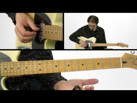 Slide Guitar Lesson - #2 Slides & Grace Notes - David Hamburger