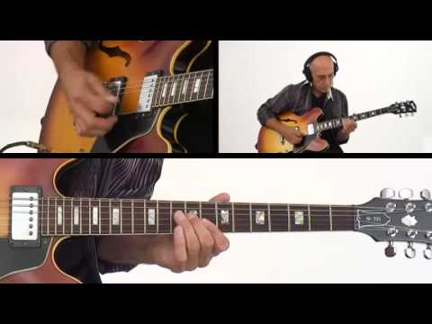 Larry Carlton - Red Hot Poker Performance - 335 Hits - Guitar Lesson