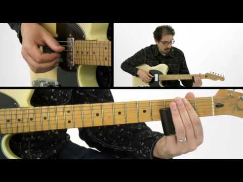 Slide Guitar Lesson - #7 Open G - David Hamburger