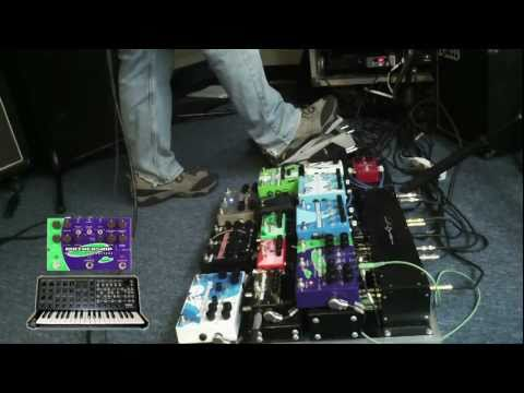 Pigtronix Keymaster Effects Mixer - The Official Demo Video
