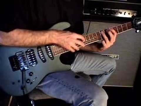 Fernandes Sustainer - Tapping Demo
