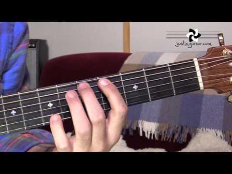 Hey Joe - Jimi Hendrix - Easy Song Beginner Guitar Lesson (BS-301)