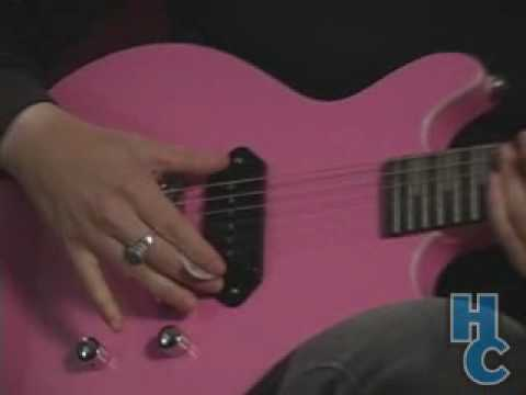 Daisy Rock Stardust Elite Rebel Electric Guitar - video review