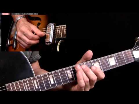 50 Down Home Blues Licks - #34 - Guitar Lesson - Richard Van Bergen
