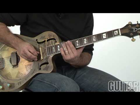 In Deep W/Andy Aledort - How To Play Slide Guitar In Open G Part 2