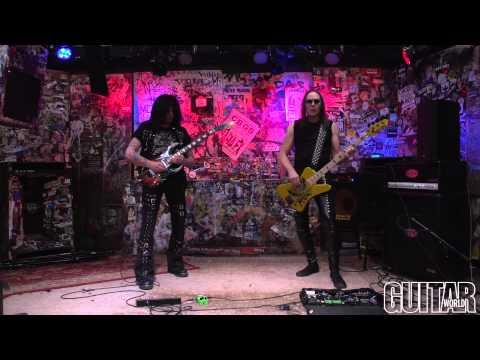 Michael Angelo Batio - 8 PIllars Of Steel - Guitar World Performance