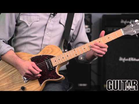 How To Play B-Bender Guitar: Clarence White-Inspired Country B-Bender Lick In A